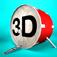 3D Drum Kit Icon