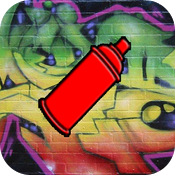 Graffiti - Spray Paint and Drawing