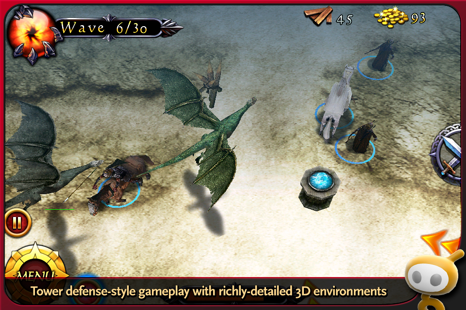 The Lord of the Rings: Middle-earth Defense Prologue screenshot 1