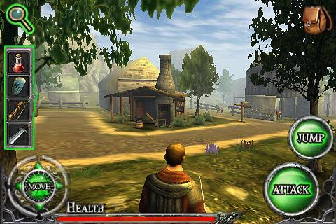 Ravensword Lite screenshot #1