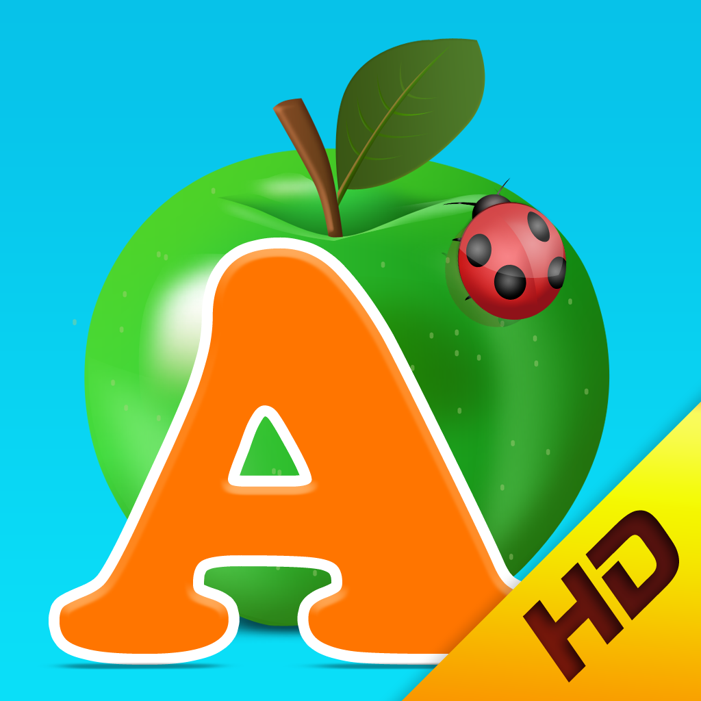 Kids Academy · ABC Alphabet Phonics App HD. Baby, Pre-K, Toddlers, Preschool and Kindergarten children learn English language through Montessori play activities: tracing, crosswords, sounds, vocabulary, song, letter spelling blocks, flash cards games.