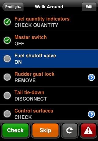 Checklist Pro: Intelligent Checklists for Pilots, Aircraft