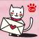 사진꾸미기 -스마일캣 포스트카드 Icon