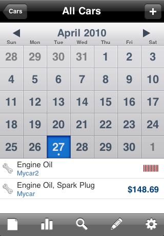 Car Log Manager – hdCarlog Screenshot