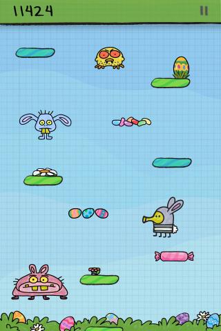 Doodle Jump – BE WARNED: Insanely Addictive! Screenshot