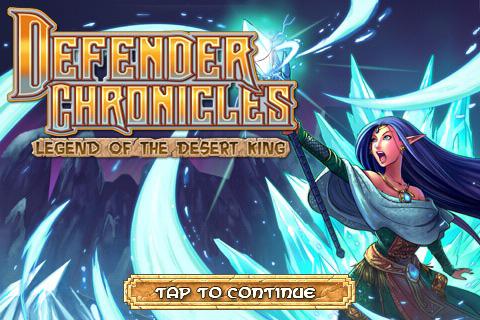Defender Chronicles Free screenshot 1