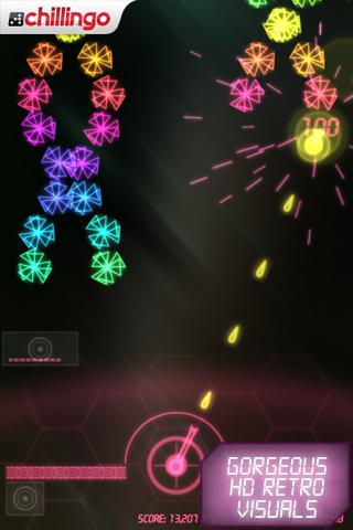 NeonBattle HD Lite screenshot #2
