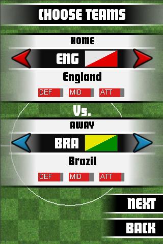 World Soccer Champs 2010 Lite screenshot #2