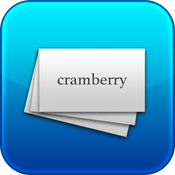 Cramberry ~ flash cards