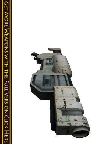 3d Weapons Lite – A Full 3d Rocket Launcher Gun Screenshot