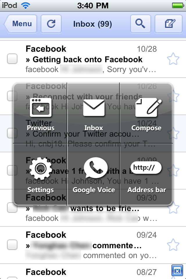 Push for Gmail screenshot 3