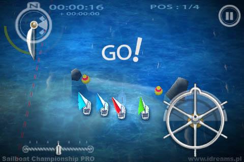 Sailboat Championship PRO screenshot 2