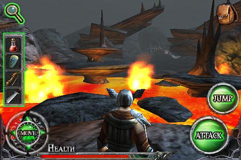 Ravensword Lite screenshot #2