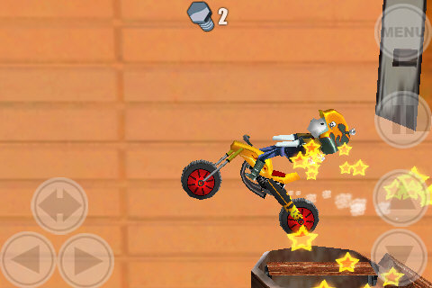 Space Bikers Lite screenshot #3