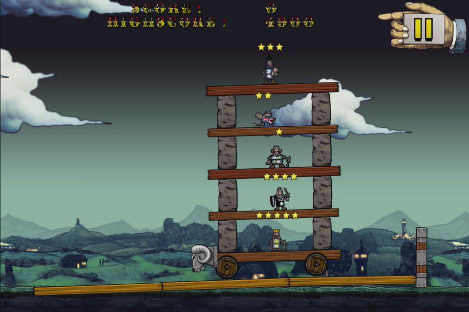 Monty Python's Cow Tossing screenshot 2