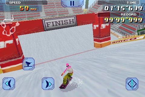 Alpine Racer Lite screenshot #1