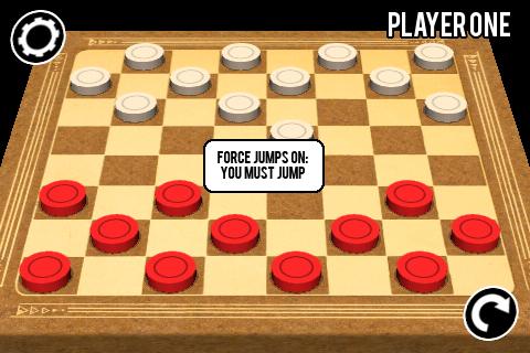 3D Checkers Screenshot