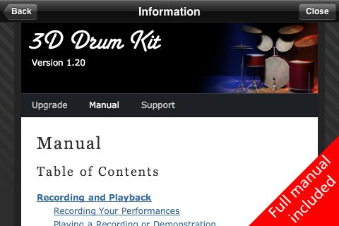 3D Drum Kit Screenshot