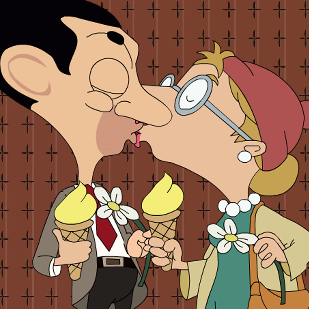Kissing For Mr.Bean Version