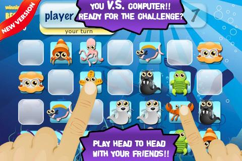 Memory Planet Lite - matching game screenshot #1