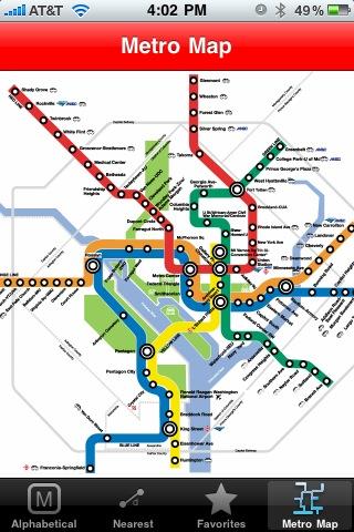 NextTrain DC Metro – AR Screenshot