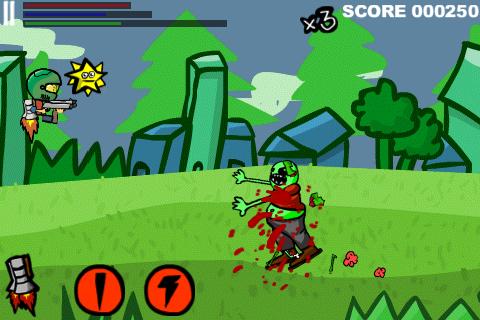 Rocket Boy 2D Screenshot