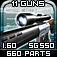 Gun Disassembly 3D Icon