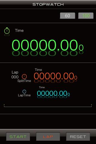 仕事効率化デシマルウォッチ Screenshot