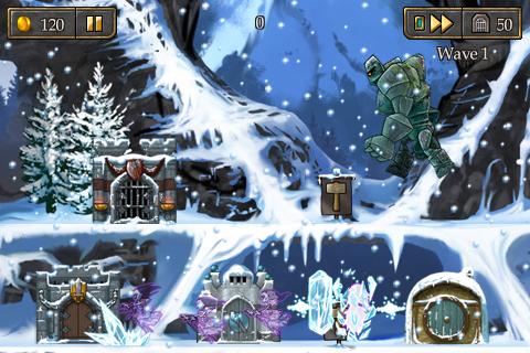 Defender Chronicles lite - Mage version screenshot #2