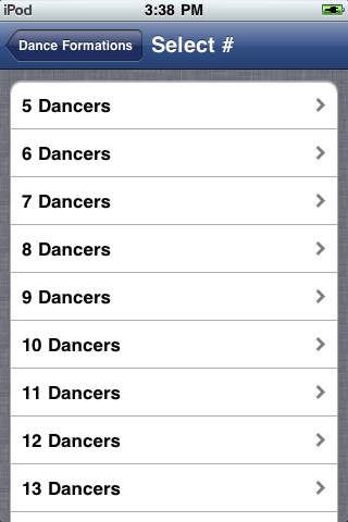 Dance Formations App | iPhone & iPad Game Reviews | AppSpy com