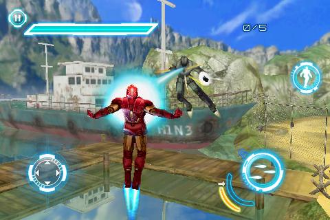 Iron Man 2 LITE screenshot 4