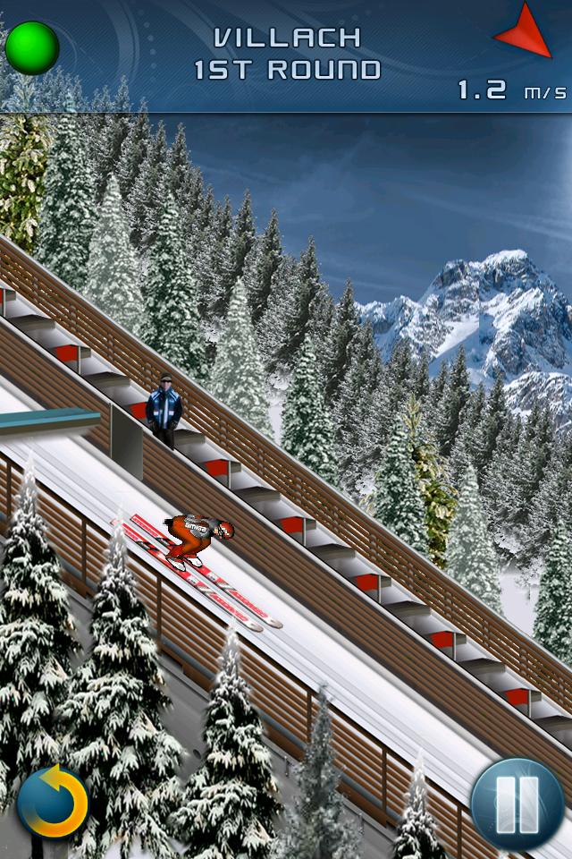 Ski Jumping 2011 - Free screenshot #2