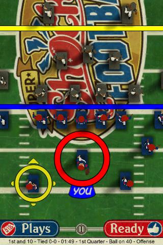 Super Shock Football Lite screenshot #4