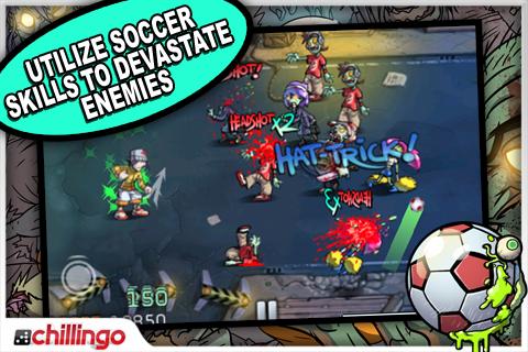 Pro Zombie Soccer Lite screenshot #3