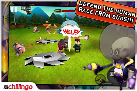 Bugs Wars Lite screenshot 1