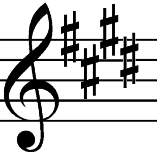 Music Key Signature Trainer