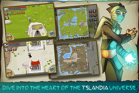 Yslandia MMORPG screenshot #2