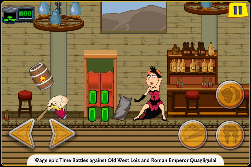 Family Guy Time Warped Lite screenshot 3