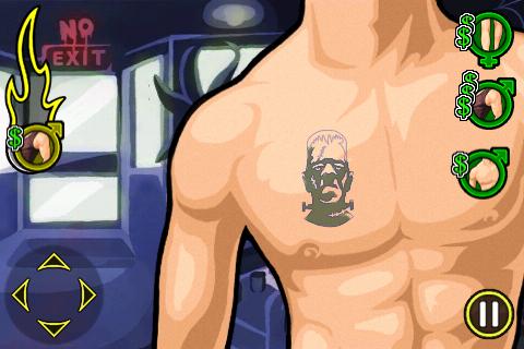 Tattoo Mania - Halloween Edition screenshot 5