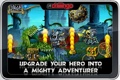 Knight's Rush Lite screenshot #2