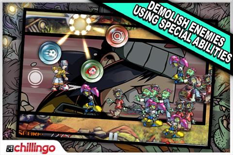 Pro Zombie Soccer Lite screenshot #4