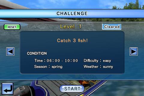 Bass Fishing 3D on the Boat Screenshot