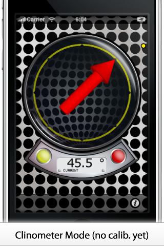 MagnetMeter – 3D Vector Magnetometer and Accelerometer Screenshot