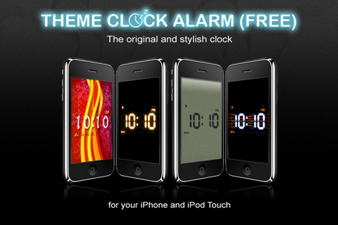 Theme Clock Lite Screenshot