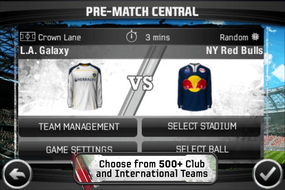 FIFA 11 by EA SPORTS™ screenshot 4