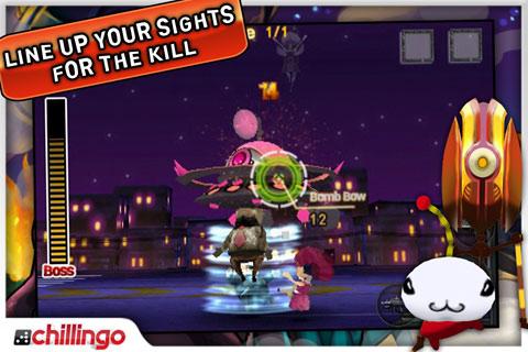 Bugs Wars Lite screenshot #2