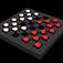 3D Checkers Icon