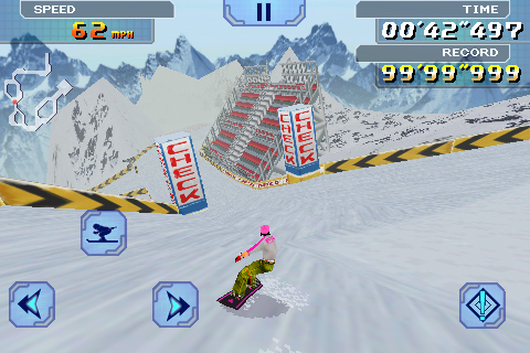 Alpine Racer Lite screenshot #4