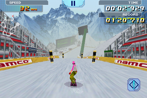 Alpine Racer Lite screenshot #2