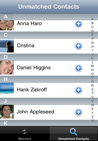FaceSync Screenshot